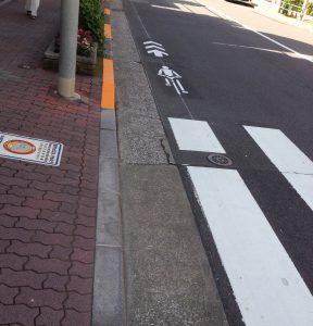 自転車マーク 車道